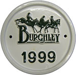 Burghley 1999  plaque
